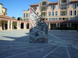 Piazza del Sole e della Pace Abano Terme