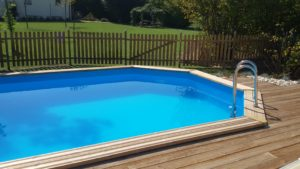 Accesso alla piscina