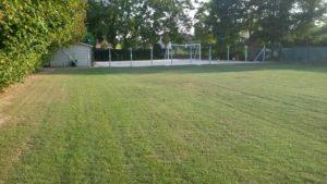 Campetto da calcio e zona verde