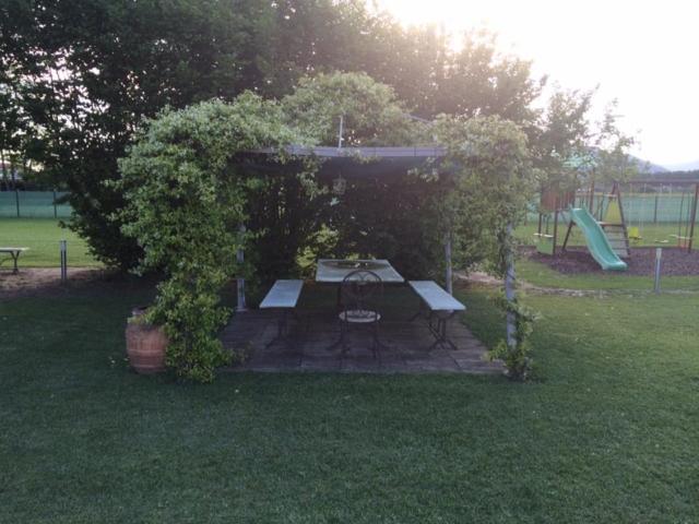 Il gazebo nel giardino