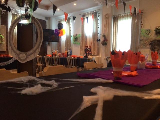 Festa di Halloween in villa
