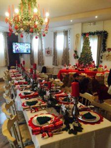 Sala Casanova addobbata per Natale
