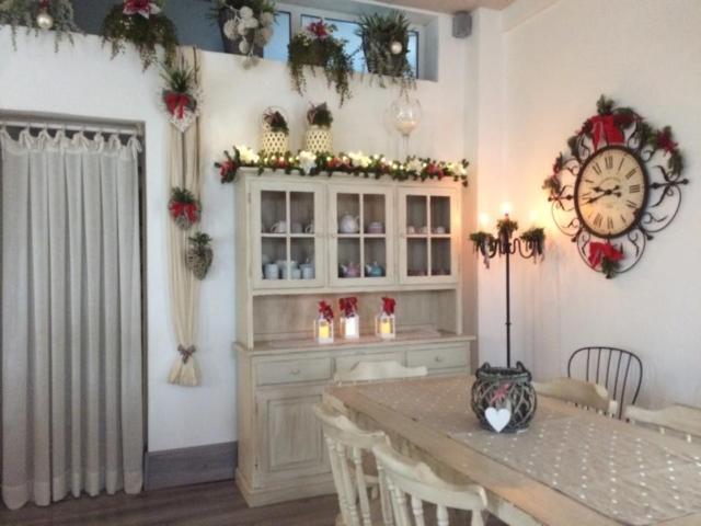 Sala Casanova in veste natalizia