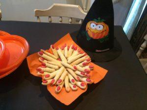 Particolare festa di Halloween