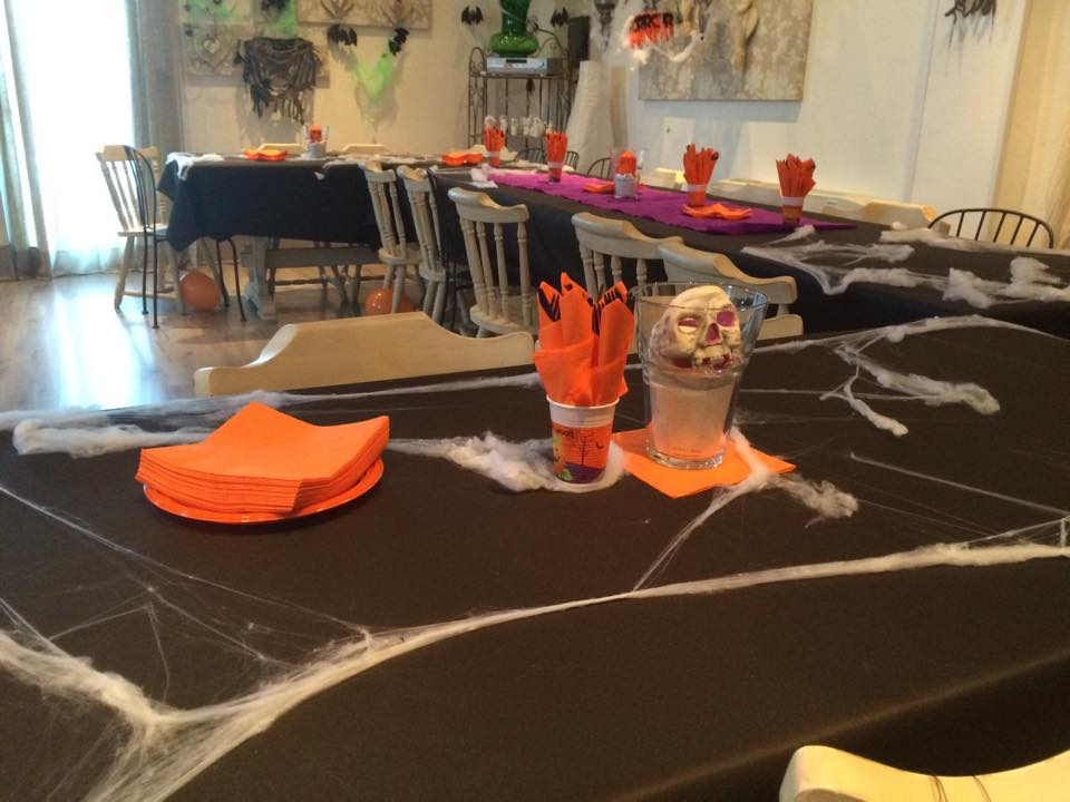 Sala Casanova ad Halloween