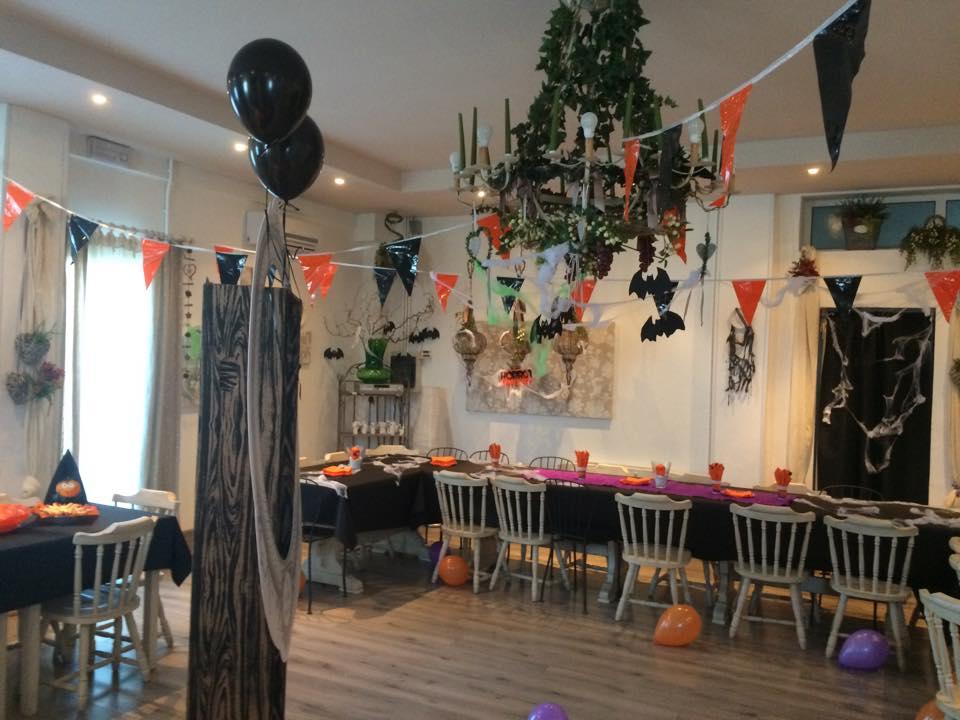 Sala Casanova addobbata per Halloween