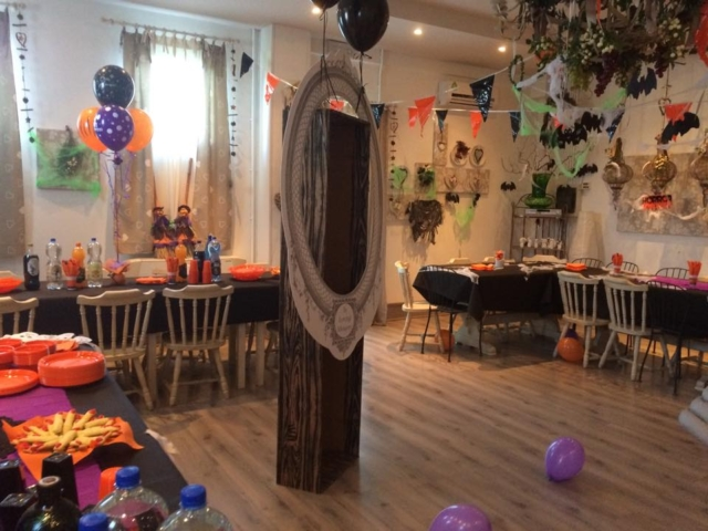 Vista Sala Casanova per Halloween